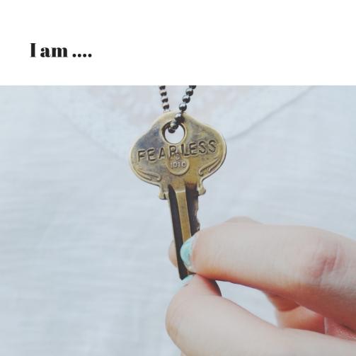 I am ....