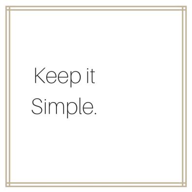 Keep itSimple